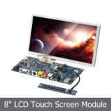 Module d'affichage à cristaux liquides à écran tactile 8 po avec carte de contrôle