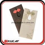 Cartão agradável do convite do cumprimento da impressão feita sob encomenda com envelope