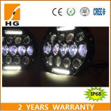 7 diodo emissor de luz redondo Lights Vehicle Headlights do diodo emissor de luz 24V