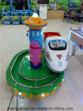 Горячий поезд замока машины игры занятности сбывания круглый для детей