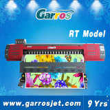 Garros imprimante à jet d'encre dissolvante de 3.2m et de 1.8m Eco pour le vinyle de collants de drapeau