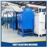 Línea entera máquina de la alta calidad del chorreo con granalla en cilindro de gas del LPG