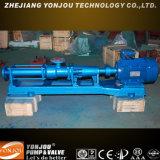 Progressive Kammer-Klärschlamm-Pumpe, einzelne Schrauben-Pumpe