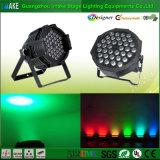 Luz de la IGUALDAD de la fábrica Sale/36PCS 1W LED de China/iluminación directas RGBW