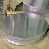 Calidad de profundidad del dibujo del círculo de aluminio 8011 para el café urnas