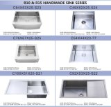 Малый шар Handmade Kitchen Sink Single нержавеющей стали Radius 304 с Satin Finished (HA01)