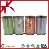 Alta calidad colorida poliéster Navidad de la cinta del regalo