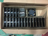 Chaufferette en verre de /Curved de chaufferette d'acier inoxydable de réchauffeur de nourriture Hw-838 avec 2-Pans