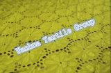 2016熱い販売のかぎ針編みの伸縮性がある綿のレースファブリック