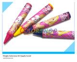 8 crayons non-toxiques classiques de couleurs pour des étudiants et des enfants