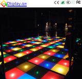 Binnen LEIDEN van de Oneindigheid van de Spiegel van de Illusie van de Decoratie van het huwelijk 3D Dance Floor