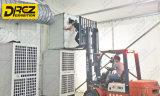 100를 위한 50 도 고방사능 구역 Gcc 국가를 위해, 냉각하는 Drez 천막 공기 조절기 전람 - 2000sqm 천막