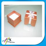 Caixa de presente de papel feita sob encomenda de empacotamento da caixa da jóia nova do projeto