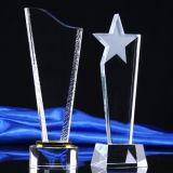 Металлическая пластинка трофея пожалования кристаллический стекла K9