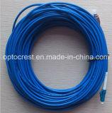 Соединительный кабель оптического волокна дуплекса одиночного режима LC-Sc-FC