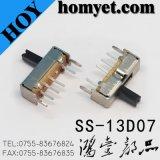 Vende por atacado o interruptor de corrediça da posição 1p3t três/interruptor de alavanca com tipo do MERGULHO (SS-13D07)