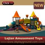 Скольжение спортивной площадки прочных детей высокого качества SGS напольное (X1506-5)