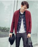 Cardigan di nylon del maglione dell'uomo di modo delle lane acriliche del ODM