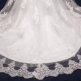 Vestidos de casamento elegantes da sereia de Tulle da faixa do laço (TM-MS028)