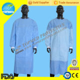 Wegwerfbares Medical Surgical Gown/Doctor Gown Isolation Gown mit Cer ISO FDA