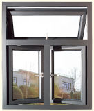 Aluminiumgehangenes Spitzenfenster der modernen hölzernen Farben-2016