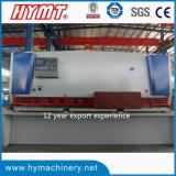 Машина гидровлической гильотины QC11Y-12X4000 режа/автомат для резки стальной плиты