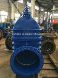 Non-Поднимая запорная заслонка усаженная металлом DIN3352-F4 стержня