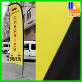 Kundenspezifisches Drucken-im Freien preiswerte bekanntmachende Feder-Markierungsfahne, fliegende Markierungsfahne