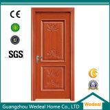 塗られたMDFの固体コア古典的な中国の内部ドア