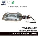 Mini sirena ed altoparlante incorporati di Lightbar di 21.5 pollici con l'obiettivo del Tir in su impermeabile (TBG-808L-3C)
