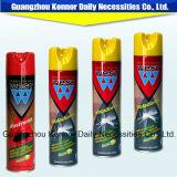 Le pétrole occidental de tueur de moustique de la qualité 400ml a basé le jet d'insecticide