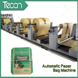 Saco químico automático de alta velocidade da válvula do papel de embalagem que faz a máquina
