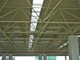 Здание пакгауза крыши ферменной конструкции освещения стальное