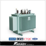 11kv de elektrische Stap van de Fabrikant van de Transformator van de Distributie van 3 Fase - onderaan de Transformator van de Olie