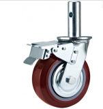 Roda durável segura do rodízio para o andaime