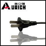 Jogo de cabo da potência feito na reunião do IEC C13 de China com aprovaçã0 padrão de China CCC