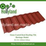 입히는 착색된 돌 칩을%s 가진 강철 지붕 장 (고아한 도와)