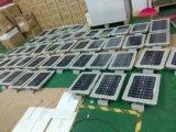 Tous dans un réverbère solaire de 50W DEL avec le panneau solaire de batterie