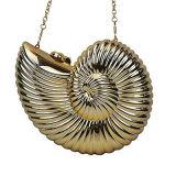 Le créateur d'or et de ruban déchirent le sac à main Sy7636 d'embrayage de soirée d'escargot