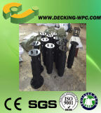 中国のWPCのDeckingのボードの調節可能なプラスチック軸受け
