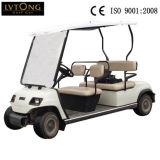 道のゴルフカートを離れて電気4 Seater