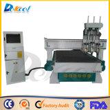3つのスピンドル中国CNCのルーター機械製造業者1325年