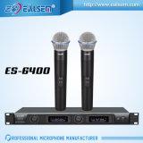 Micrófono de frecuencia fija sin hilos del micrófono caliente de la venta de la frecuencia ultraelevada