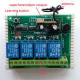 Передатчик RF 4 каналов и набор регулятора мотора приемника установленный