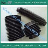 Soufflets personnalisés par usine en caoutchouc de silicones avec la boucle de fer