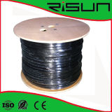 Ethernet-Kabel-Halogen-freie Reichweite des twisted- pairCAT6 U/UTP gefällig