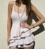Robe sexy de femmes de mode de vente en gros de coton d'été