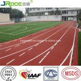 Surface sportive de sport de piste pour le stade de sport extérieur