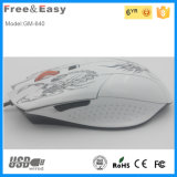 OfficeのためのWired安いOptical Computer ProfessionalレーザーGaming Mouse
