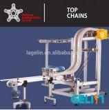 chaînes latérellement flexibles Snap-on de bande de conveyeur 1873-G4-K375